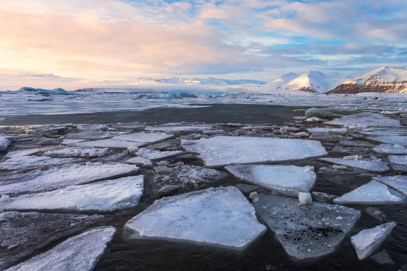 Mesmerized by the Ice inJokulsarlon.